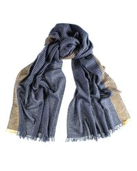 Black.co.uk | Blue Cavendish Cashmere Scarf Description Delivery & Returns Reviews for Men | Lyst