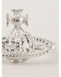 Vivienne Westwood | Metallic 'radha' Ring | Lyst