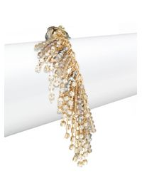 Saks Fifth Avenue - Metallic Beaded Fringe Bracelet - Lyst
