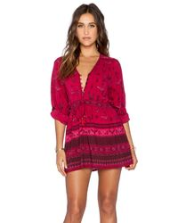 Spell & The Gypsy Collective - Purple Phoenix Play Dress - Lyst