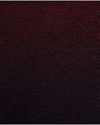 Ted Baker - Red Sprayed Ombre Scarf for Men - Lyst