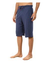 Tommy Bahama | Blue Heather Cotton Modal Jersey Knit Jam for Men | Lyst