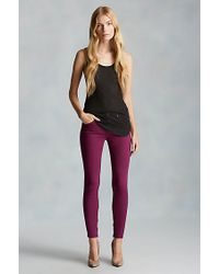 True Religion | Black Long Line Womens Tank | Lyst