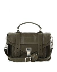 Proenza Schouler - Green Ps1 Tiny Leather Shoulder Bag - Lyst
