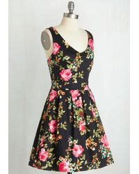 Ixia - Bookmaking Brunch Dress In Black - Lyst