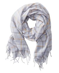 Banana Republic | Gray Sophie Scarf | Lyst