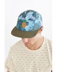 Coal - Blue The Cascade 5-panel Hat for Men - Lyst