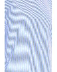 Adam Lippes - Blue Striped Tunic Top - Lyst