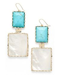Lana Jewelry | Metallic 'riviera - Viva' Drop Earrings | Lyst