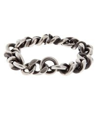 Werkstatt:münchen - Metallic Silver Bracelet for Men - Lyst