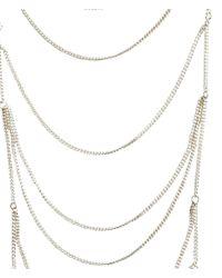 H&M | Metallic Body Jewellery | Lyst