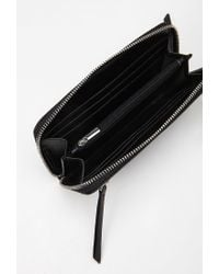Forever 21 | Black Faux Leather Wallet | Lyst