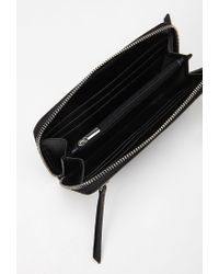 Forever 21 - Black Faux Leather Wallet - Lyst