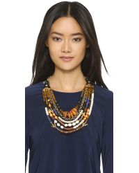 Lizzie Fortunato | Metallic The Medina Necklace - Gold Multi | Lyst