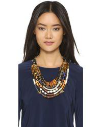 Lizzie Fortunato - Metallic The Medina Necklace - Gold Multi - Lyst