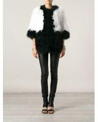Giorgio Brato - Black Boxy Feathered Jacket - Lyst