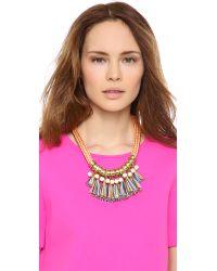 Holst + Lee | Orange Holst Lee Miranda Forever Necklace | Lyst