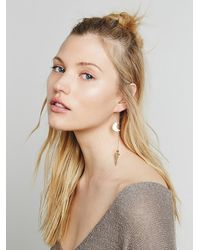 Free People | Metallic Laurel Hill Jewelry Womens Myth Earrings | Lyst