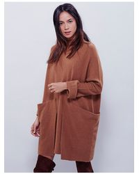 Free People | Brown Zoe Swit Dress | Lyst