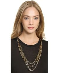Lulu Frost - Metallic Poison Long Necklace - Gold - Lyst