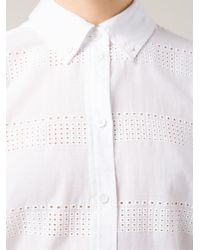 Equipment - White 'Margaux' Shirt - Lyst