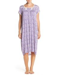 Eileen West - Purple 'mara' Modal Nightgown - Lyst