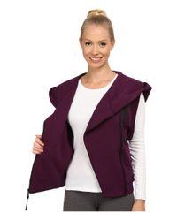 Nike | Purple Tech Fleece Vest | Lyst