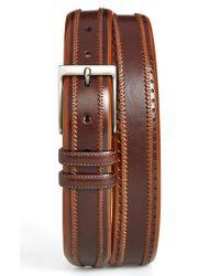 Mezlan - Brown 'diver' Leather Belt for Men - Lyst