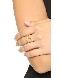 Jennifer Zeuner | Metallic Alexis Ring | Lyst