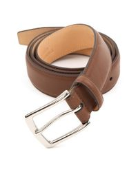 Trafalgar | Brown 'manchester' Leather Belt for Men | Lyst