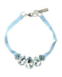 Caterina Capelli - Blue Necklace - Lyst