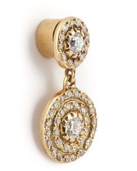 Ileana Makri   Metallic Double 'solitaire' Diamond Earrings   Lyst