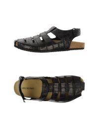 Neil Barrett - Black Sandals for Men - Lyst