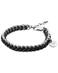 Dyrberg/Kern | Black Dyrberg/Kern Diora Bracelet | Lyst
