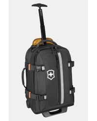 Victorinox - Natural Victorinox Swiss Army Rolling Backpack - Lyst