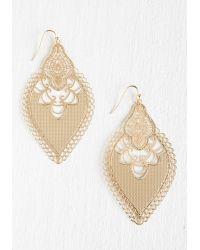 Ana Accessories Inc | Metallic I Dreamed A Gleam Earrings | Lyst