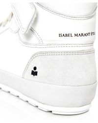 Étoile Isabel Marant | White Bessy Leather Trainers | Lyst