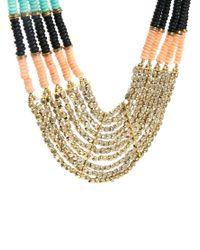 ALDO - Multicolor Thaledda Beaded Collar Necklace - Lyst