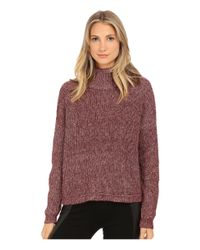 French Connection | Purple Otis Cowl Neck Sweater 78eel | Lyst