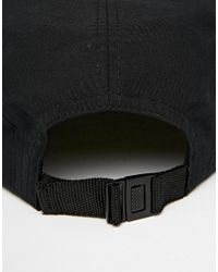 ASOS - 5 Panel Cap In Black With Aztec Peak for Men - Lyst