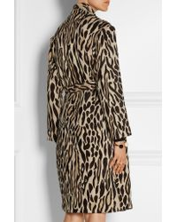 By Malene Birger | Brown Apponia Leopard-jacquard Coat | Lyst