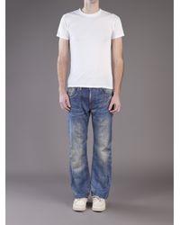 Junya Watanabe - Blue Cotton Vintage Levis for Men - Lyst