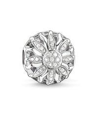 Thomas Sabo | Metallic Karma Bead Sunshine Silver | Lyst