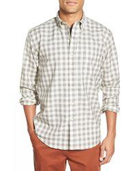 Pendleton | Gray 'sir ' Wool Check Woven Shirt for Men | Lyst
