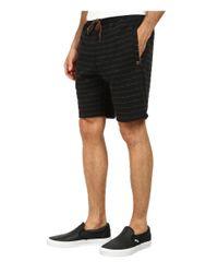 Billabong - Black Hudson Stripe Short for Men - Lyst