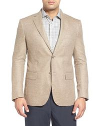 John W. Nordstrom - Natural John W. Nordstrom Classic Fit Cashmere Sport Coat for Men - Lyst