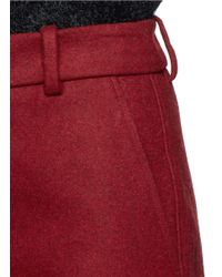 3.1 Phillip Lim - Red Top Stitch Culottes - Lyst