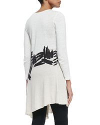 NIC+ZOE - Multicolor Different Strokes Asymmetric Tunic - Lyst