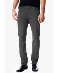 7 For All Mankind Gray Luxe Performance Sateen: The Straight for men