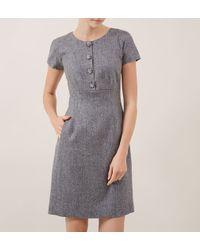 Hobbs | Gray Cardinal Dress | Lyst